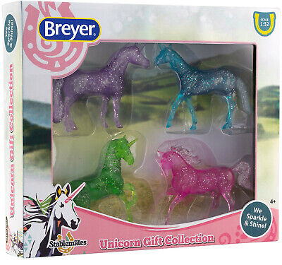 Breyer Stablemates Unicorn Gift Collection Set Horse Model #6048 10