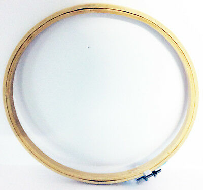 Bamboo Hand Embroidery Cross Stitch Ring Hoop Frames Top Quality UK Seller 3