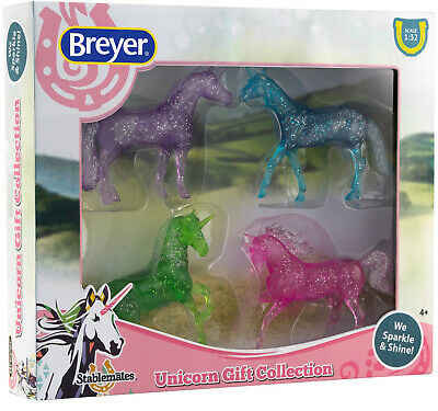 Breyer Stablemates Unicorn Gift Collection Set Horse Model #6048 6