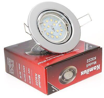 Kamilux® BAJO LED Einbaustrahler Einbau-Leuchten Lampe ultra-flach Decken-Spot