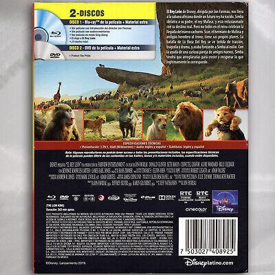 Disney El Rey León Blu-ray + DVD ESPAÑOL LATINO 2