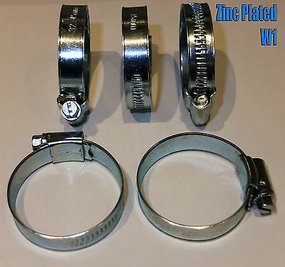 Stainless Steel Hose Clips Pipe Clamps - jubilee type - 304ss - British Type 4