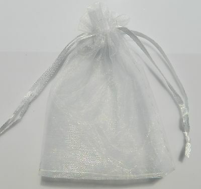 25/50/100pcs Sheer Organza Wedding Party Favor Gift Candy Bags Jewelry Pouches 6