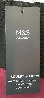 Marks and Spencer Collection Sculpt & Lift Leggings BNWT Sz 8 BNWT RRP £19.50 2