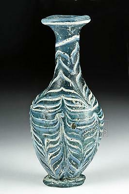 Gorgeous Greek Core-Formed Glass Alabastron Lot 24