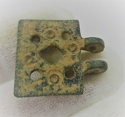 Detector Finds Ancient Roman Bronze Amulet With Ring And Dot Motifs 2