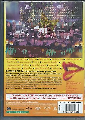 DVD + CD Cerrone Live Hysteria Party  NEUF sous cellophane 2