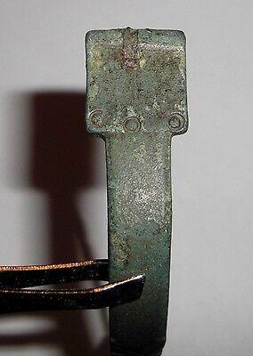Ancient Roman Empire, 3rd c. AD. Bronze Fibula, Brooch, Fox