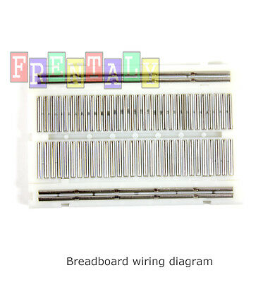 New Mini Prototype test board deck 65pcs Breadboard Wire cable /& Power Supply