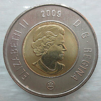 2009 Canada Toonie Brilliant Uncirculated Two Dollar Coin