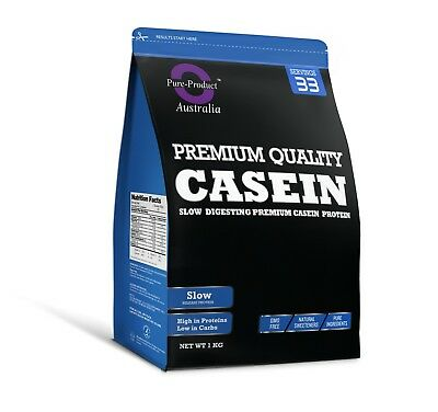 1Kg Chocolate Micellar Casein Protein Powder - Night Release -  1 X 1Kg