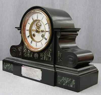 Huge 1869 Victorian Clock, 14-day Marti Movement, Visible Brocot Escapement 3