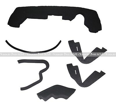New Upper Hood// Fuel Door Kit// Mounting Seal//Stickers Kit fits John Deere 4400