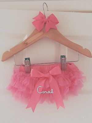 Deluxe Girls Baby Frilly Tutu Knickers Cake Smash Photoshoot 1st Birthday Outfit 4