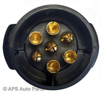 Car Trailer Caravan 7 Pin Towing Tow Bar Light Wiring Circuit Tester Plug Socket 7