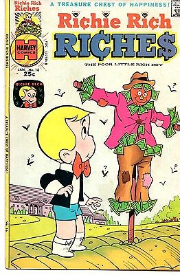 Richie Rich Riches (Lot of 4 Vintage Bronze Age Comic Books) 2 • $9.99