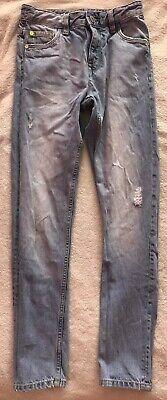 NEXT Boys Super Skinny Blue Jeans Age 10 FANTASTIC CONDITION 2