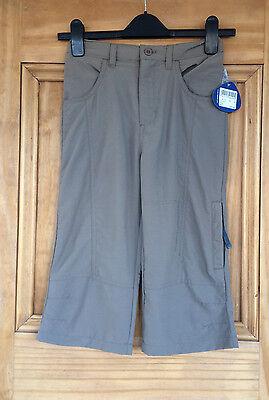 Regatta Ladies / Girls Pink Stone Grey Cropped Summer Trousers 5 - 16 Years Bnwt 2