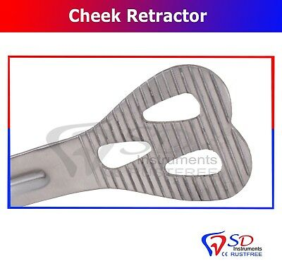 Dental Weider Retractor Cheek and Tongue Lips Mucoperiosteal Flaps Adult New CE