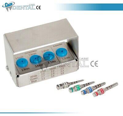 NEW Bone Compression & Expander Screws Kit Dental Implant Sinus Lift Tools CE 3