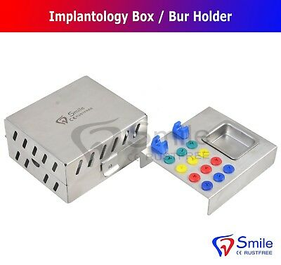 Dental Surgical Instruments Empty Sterilization Box for Surgical Implant Tools 2