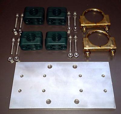 "3//4/"" Driver Elem 4/"" x 8/"" Dipole-Driven Element Al.Antenna Plate to 1.75/"" Boom"