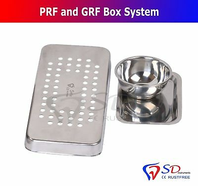 Dental PRF Box GRF System Platelet Rich Fibrin Set Implant Surgery Membrane Kit 10