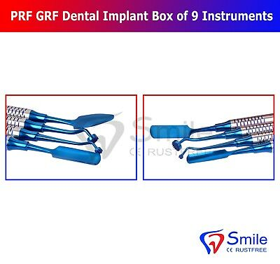 Dental PRF Centrifuge System GRF Instruments Box Set Implant Surgery Kit Smile 6