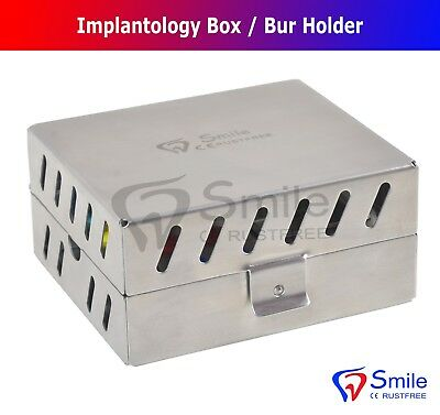 Dental Surgical Instruments Empty Sterilization Box for Surgical Implant Tools 4