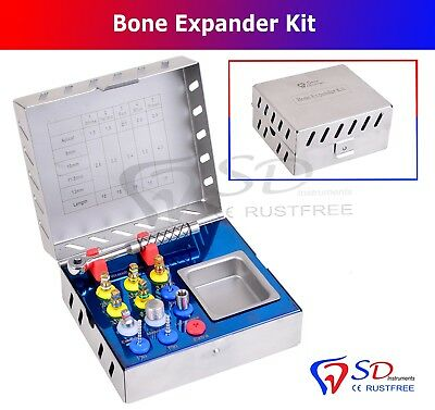 Dental Bone Expander Kit Sinus Lift 12 Pcs Implant Surgical Instruments NEW 6