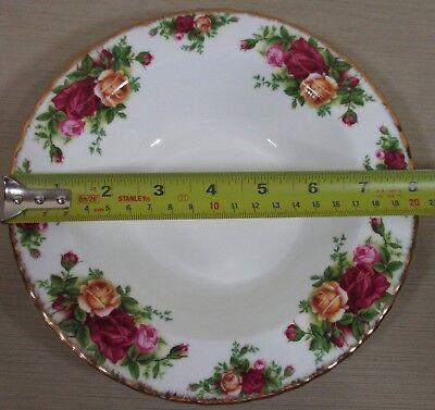 2X Royal Albert Old Country Rose Set 2 Rim Soup Bowls Cereal Bowls Never Use 8