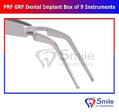Dental PRF Centrifuge System GRF Instruments Box Set Implant Surgery Kit Smile 8