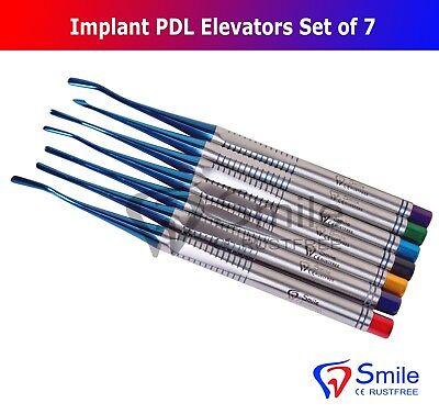 7X Dental Implant Proximators PDL Luxating Elevators Surgery Dental Instruments 8