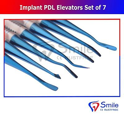 7X Dental Implant Proximators PDL Luxating Elevators Surgery Dental Instruments 2