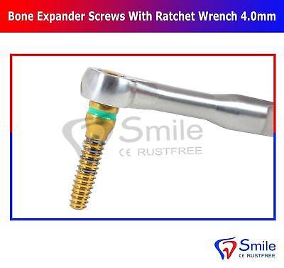 Bone Expander Kit 5 PCS Screws Dental Implant With Free Ratchet Wrench 4.0mm CE 4