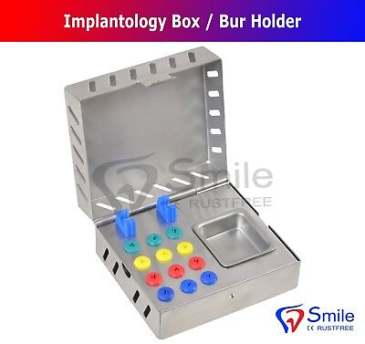 Dental Surgical Instruments Empty Sterilization Box for Surgical Implant Tools 3