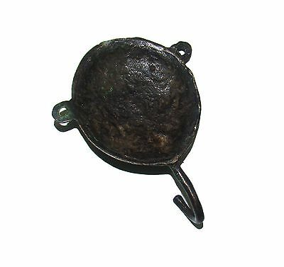 A set of 5 Brass made attractive WOMAN FACE DESIGNED COAT HOOKS  from India 4