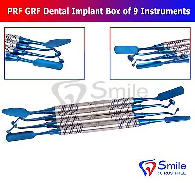 Dental PRF Centrifuge System GRF Instruments Box Set Implant Surgery Kit Smile 4