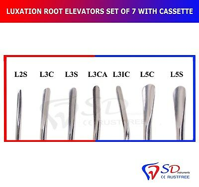Dental Surgical Luxating Elevators Root Extraction Surgical Elevator Save £ 40