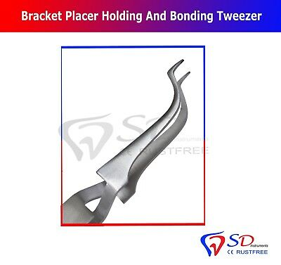 Dental Orthodontic Buccal Tube Tweezers Slim Tipped Surgical Dental Instruments