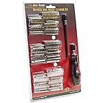 20pc Professional Wire Brush Cleaning Kit Set Metal Remover Dust Rust Brass