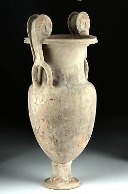 Greek Canosan Terracotta Volute Krater Lot 28B