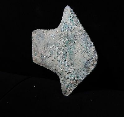 Zurqieh -Vc45- Over 5000 Years Old Bronze Axe Head- 3000 B.c , Very Early Type!! 3