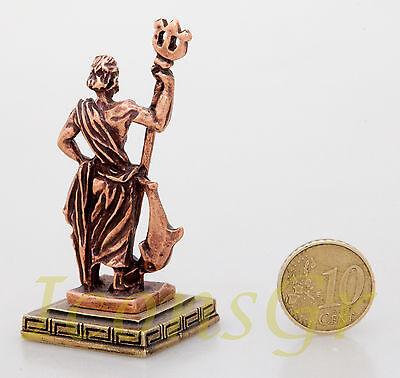 Ancient Greek Olympian God Miniature Sculpture Statue Zamac Poseidon King Of Sea