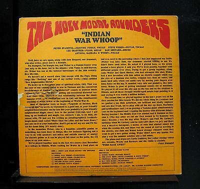 The Holy Modal Rounders - Indian War Whoop LP VG+ ESP 1068 1967 Vinyl Record 2
