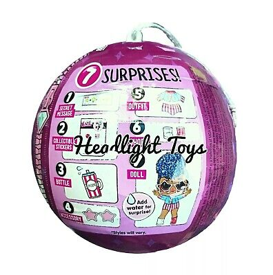 1 Authentic LOL Surprise SPARKLE SERIES Ball Big Sister Brother Dolls 2 3 4 5 6 4
