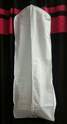 3 Of 6 Breathable Wedding Gown Prom Dress Travel Garment Bag Extra Long U Pick Color