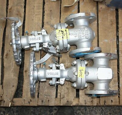 "NEWAY GATE VALVE LCC 2"" inch class 150 DN50 50mm WCB Manual 159H1 373R4 11"