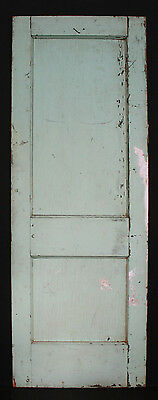 "9 avail 30""W Antique Vintage Interior Solid Wood Wooden Door Flat Recessed Panel 3"