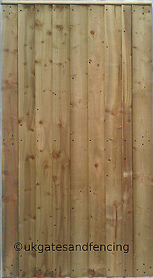 Wooden Garden Gate Wooden Gate  Featheredge Side Gate All sizes Heavy Duty !